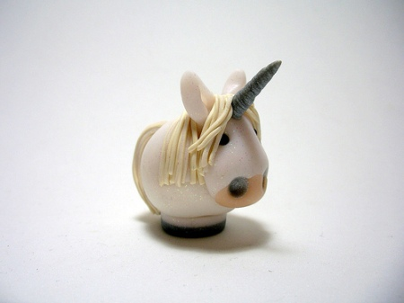 fimo unicorn tiny cute